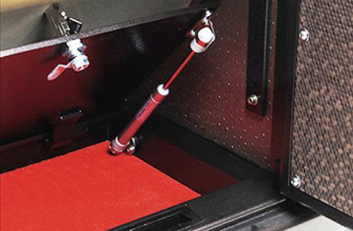 機械式暗格,液壓杆支撐