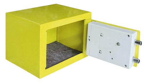TG-280 夾萬/保險箱 黃色(內部)