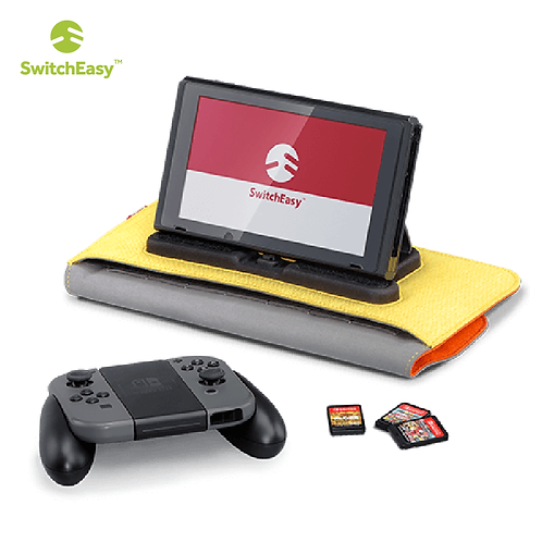 【美國】SwitchEasy PowerPACK for Nintendo Switch 收納隨身包/橙黃色