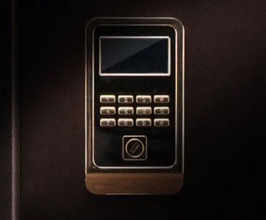 不銹鋼按鈕密碼設計控制面板,穩定耐用