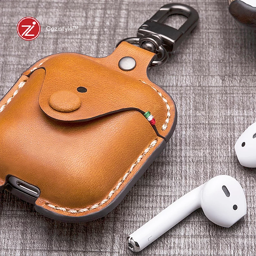 Cozistyle - AirPods 無線耳機皮革保護套/AirPods Leather Case
