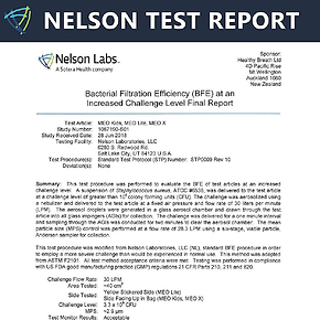nelson test report