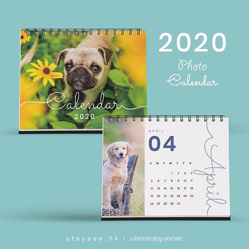 Photo Calendar 2020 - String/182 x 140mm/免費排版