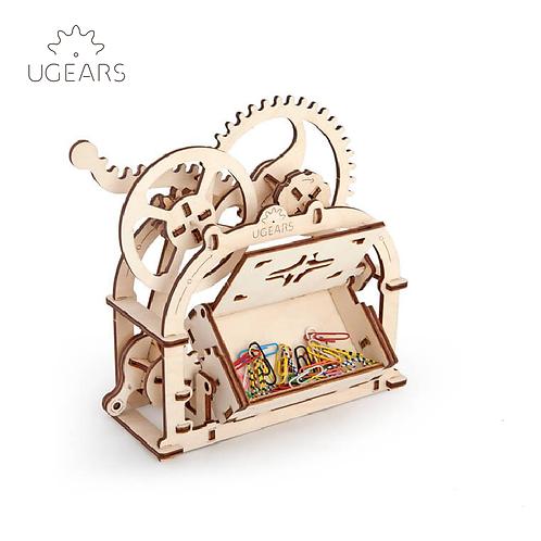 UGEARS - Mechanical Box wooden model/機動卡片盒/61 Parts