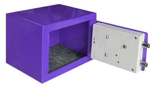 TG-280 夾萬/保險箱 紫色(內部)