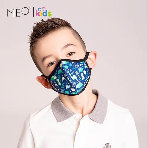 【紐西蘭】MEO™️ Kids 可愛輕便防護口罩/抗菌抗流感/PM0.1阻隔/男童款