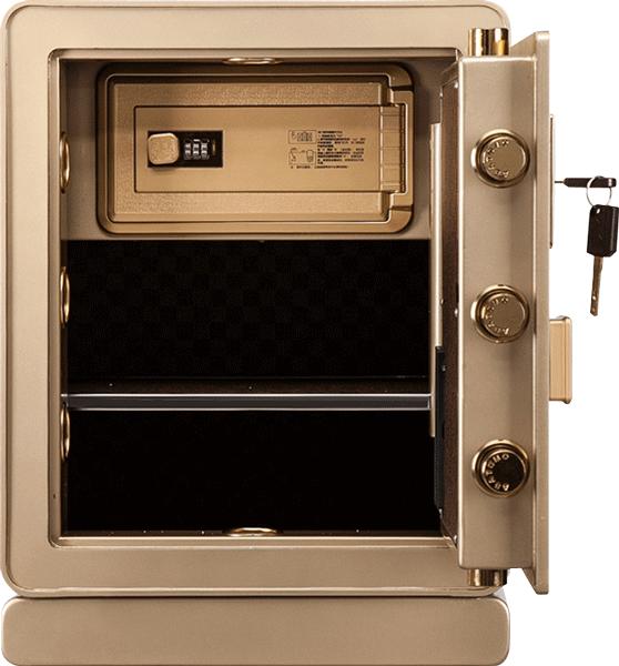 JFF-50 夾萬/保險箱 內部