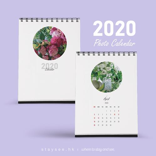 Photo Calendar 2020 - Circle V/140 x 182mm/免費排版