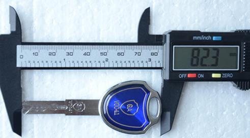 8厘米長GA安全認證保險箱專用鑰匙