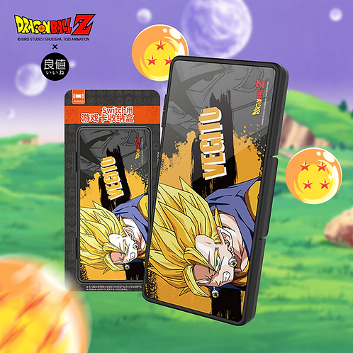 【日本】良値 IINE x DRAGON BALL Z - NINTENDO SWITCH 遊戲卡帶收納盒