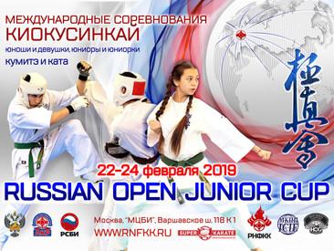 """Международные соревнования """"Russian Open Junior Cup"""" по Киокушинкай каратэ"""