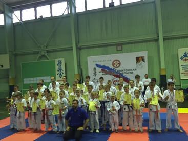Открытое первенство и Чемпионат Ивановской области по каратэ Киокусинкай