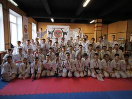 Региональные соревнования по Киокусинкай каратэ г. Александров