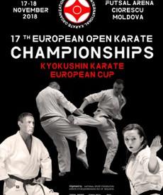 Абсолютный Чемпионат и Кубок Европы по киокусинкай и семинар с Канчо Мацуи 8-Дан в Кишеневе