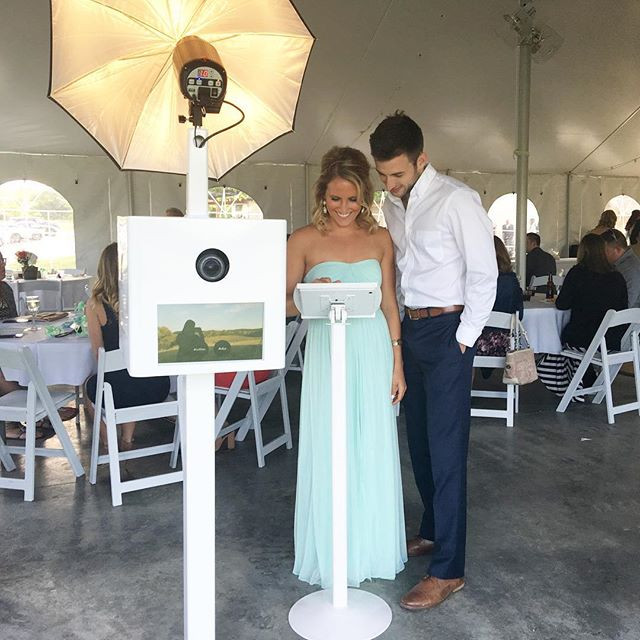 St. Louis Open Air Photo Booth Vineyard Wedding