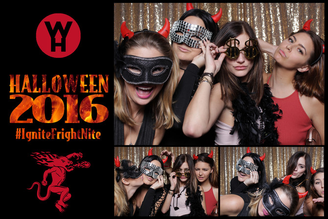 Spooky, But Elegant Photo Booth