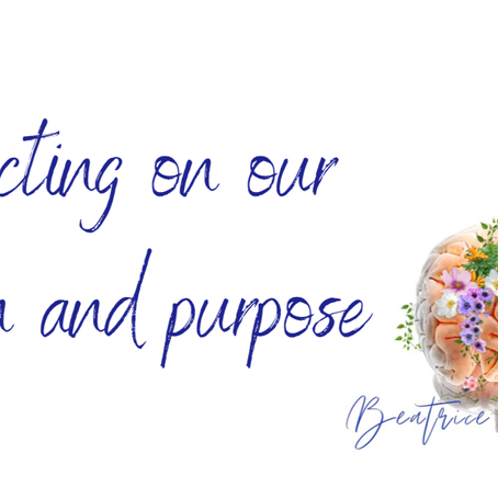 Slowing Down and Finding our Purpose