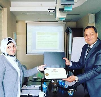 Dr. Moustafa Naouse التدريب القانوني الدولي
