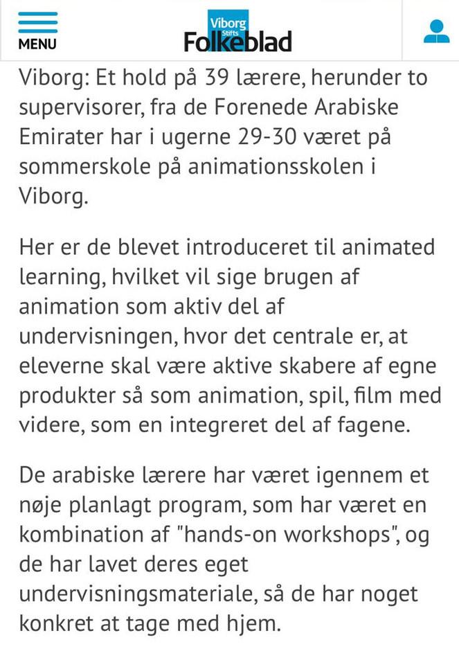 Moustafa Essam Naouse Viborg Animation