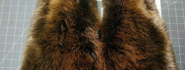 Beaver mitts L