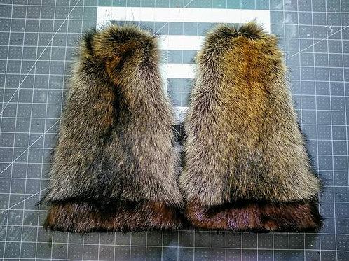Raccoon mitts