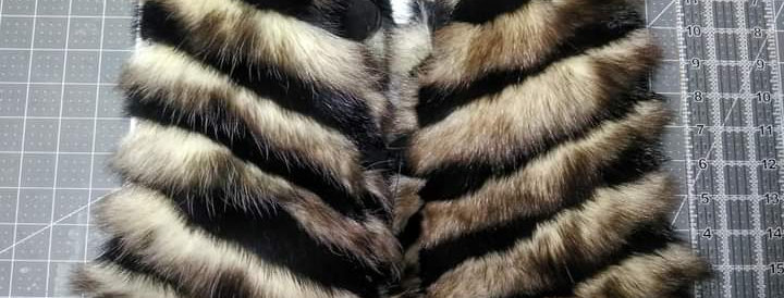 Striped mitts M