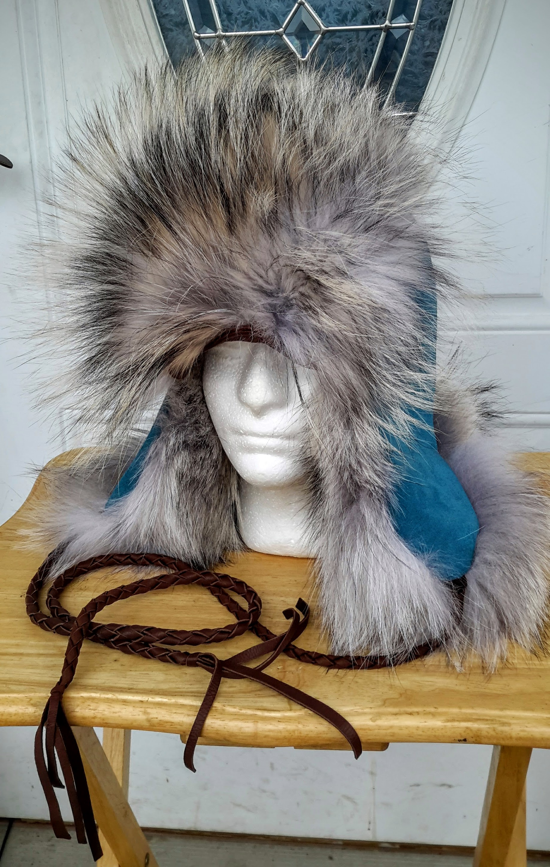 Wolf trapper hat
