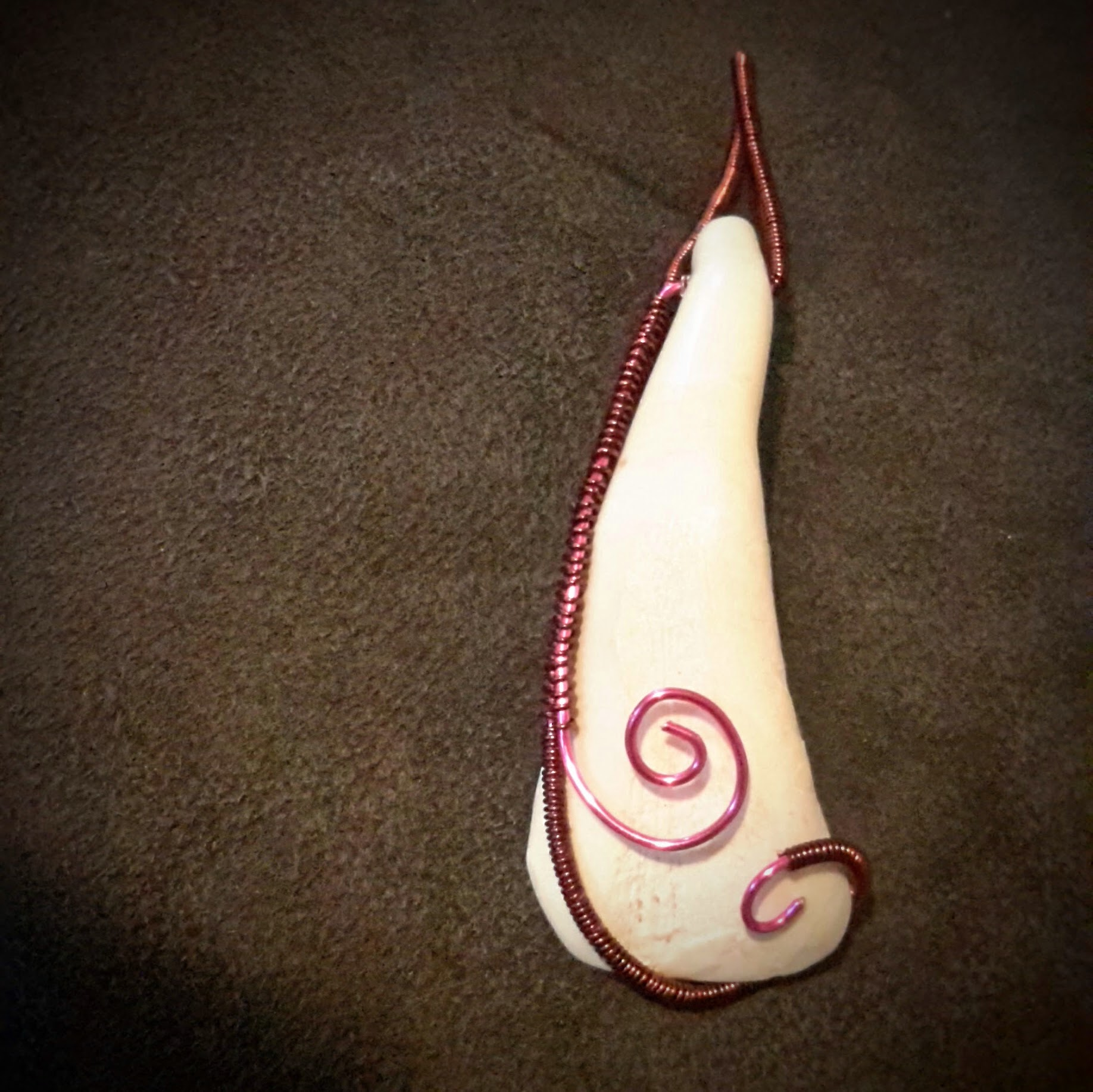 Buffalo Tooth Pendant