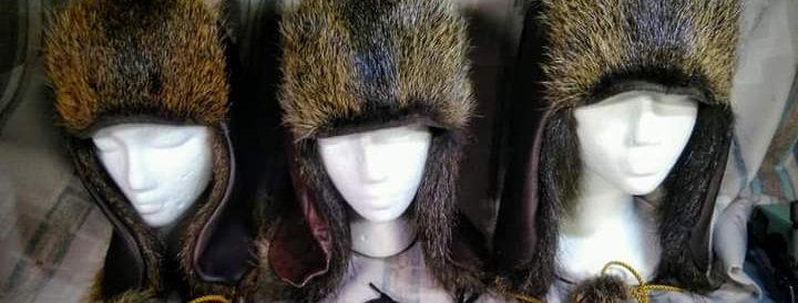 Nutria trapper hat