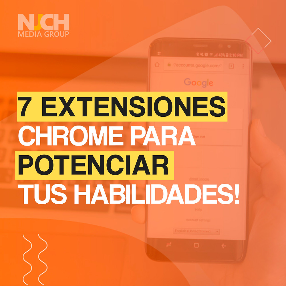 Extensiones chrome