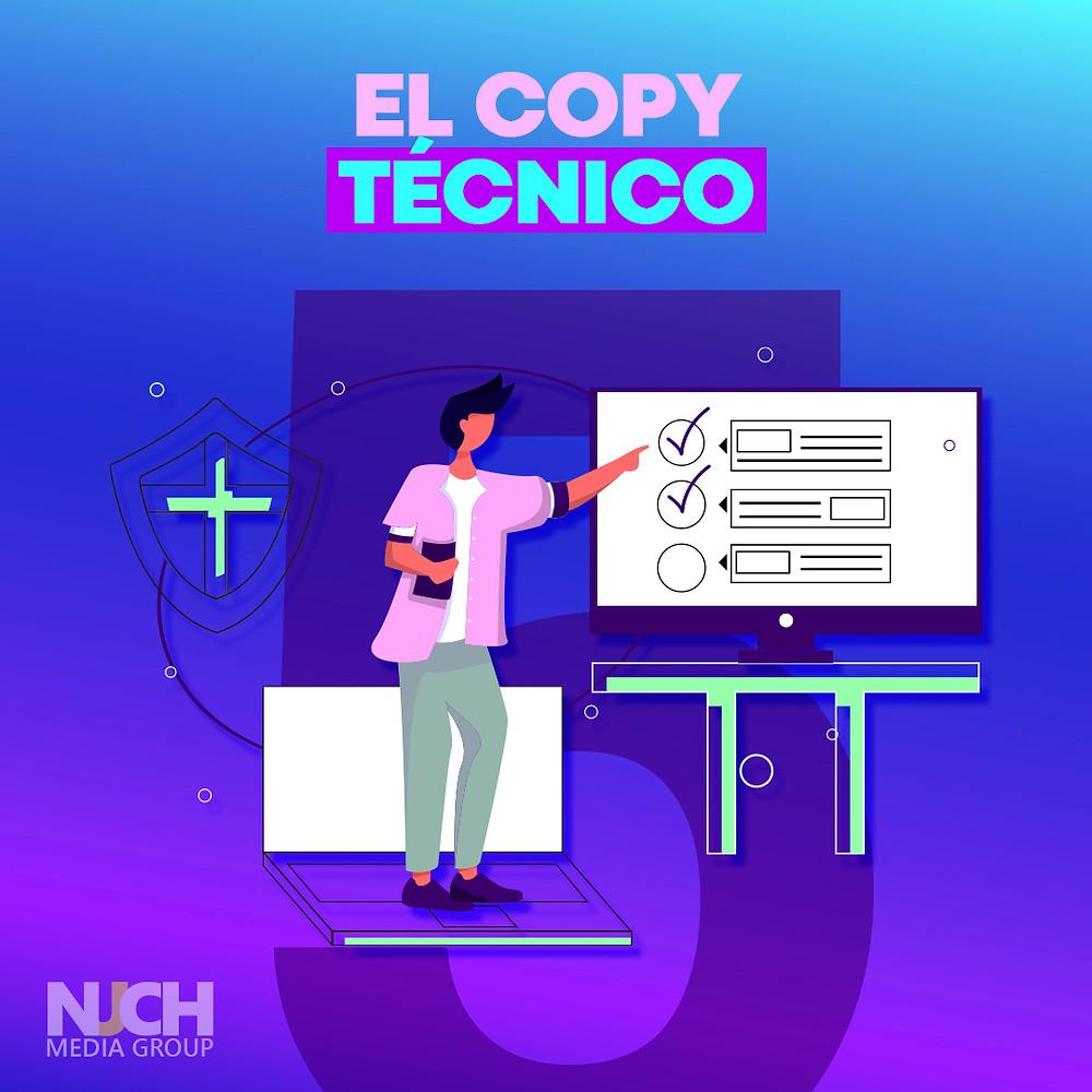 copy técnico