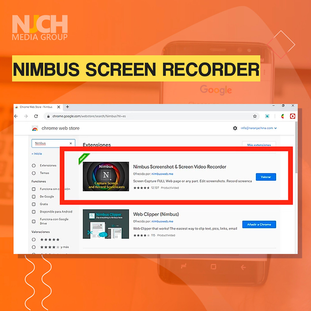 Nimbus Screen Video Recorder