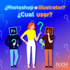 Photoshop o Illustrator?