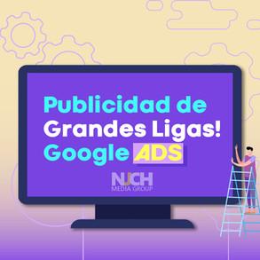 Publicidad de Grandes Ligas! Google ADS