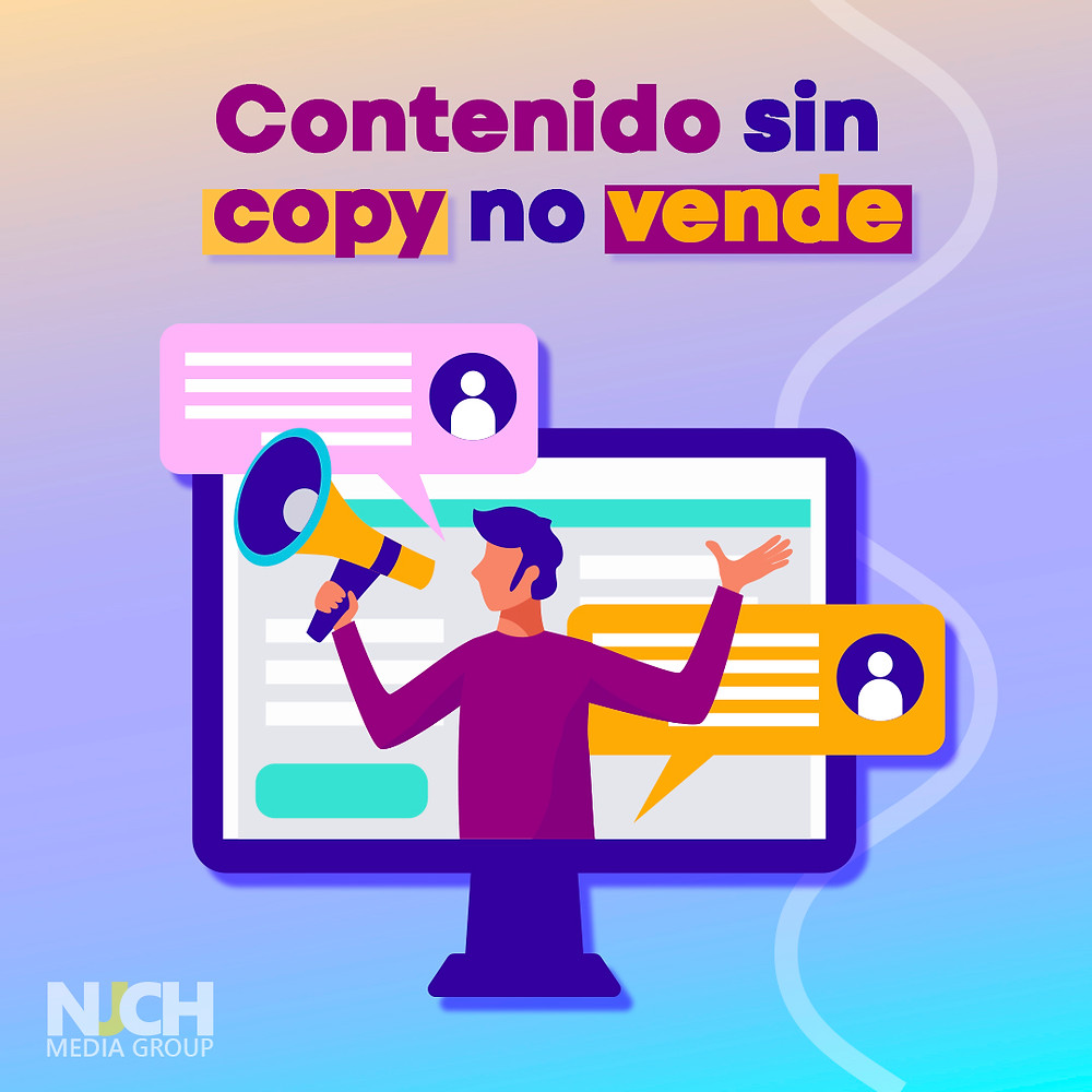 contenido sin copy no vende