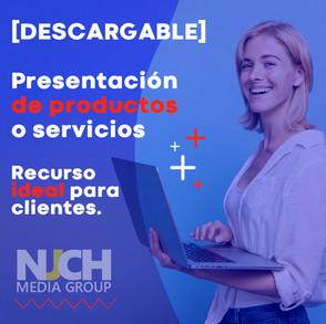 [DESCARGABLE] Presentación de Productos o Servicios