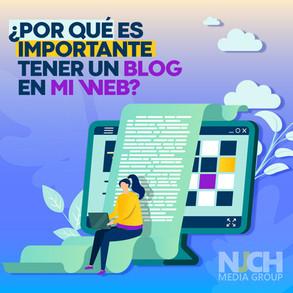 Por qué es importante tener un blog en mi página web?