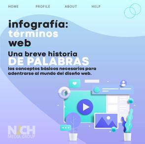 Infografía: Términos WEB