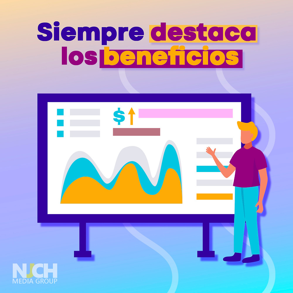 destaca los beneficios