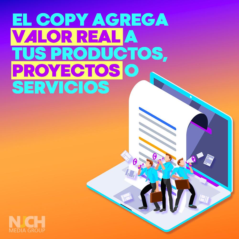 copywriting productos y servicios