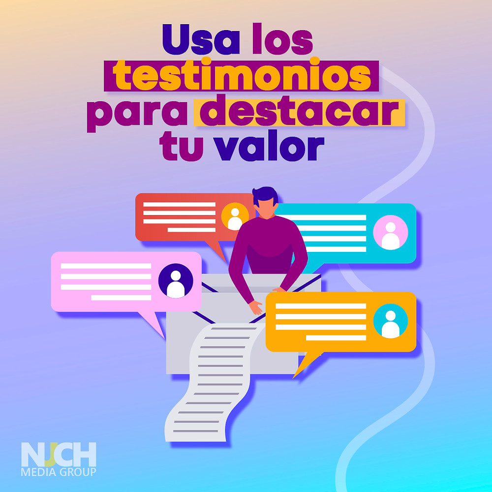 testimonio y copywriting