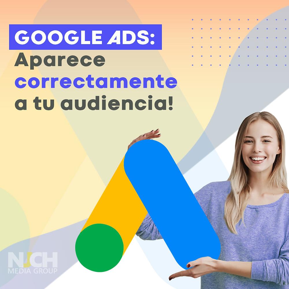Google ADS audiencias