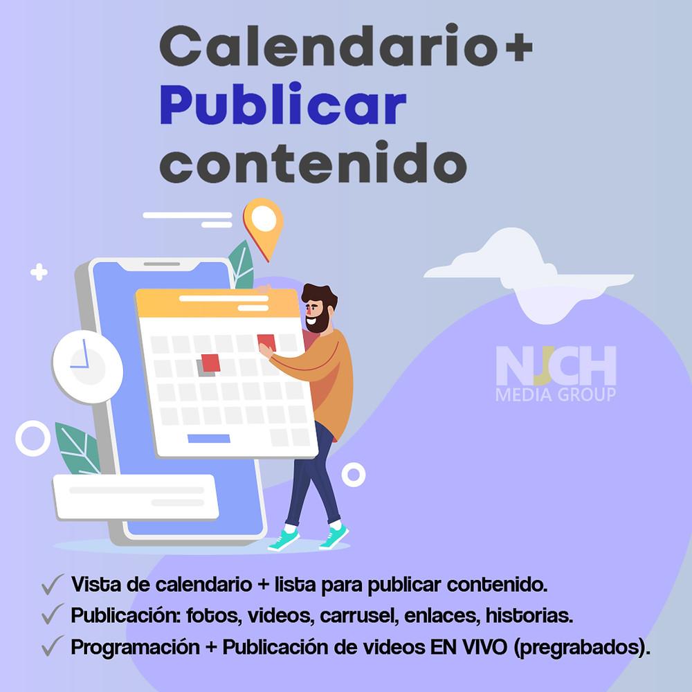 Calendario y contenido