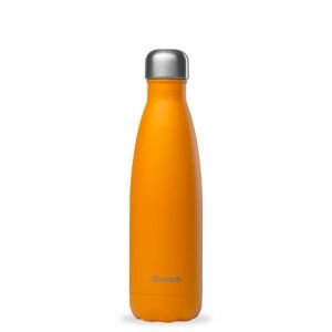 Bouteille isotherme inox - Pop orange 500 ml - Qwetch