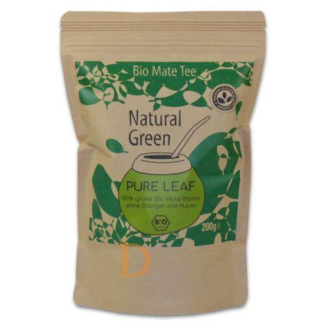 Bio Maté Tee - Natural Green - Pure Leaf - 200gr