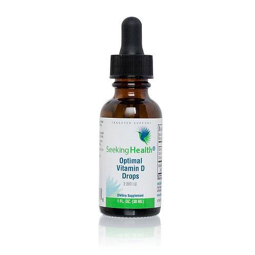 Seeking Health - Vitamines D en gouttes - 30ml