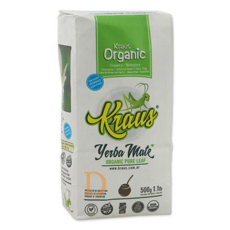 Thé maté biologique - KRAUS - Pure Leaf - 500gr