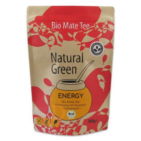 Bio Maté Tee - Natural Green - Energy - 500gr