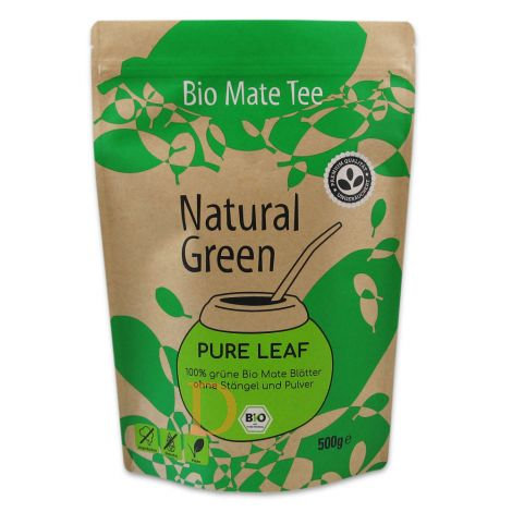 Bio Maté Tee - Natural Green - Pure Leaf - 500gr