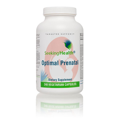 Seeking Health - Optimal Prenatal - 240 Capsules